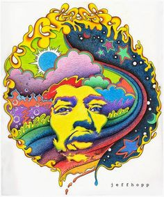 Psychedelic baby rock poster for Jimmy Hendrix Rock Posters, Concert Posters, Music Posters, Art Pop, Psychedelic Art, Imagenes Pink Floyd, Jimi Hendrix Poster, Jimi Hendrix Album Covers, Jimi Hendrix Quotes