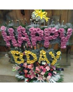 Flowerskarts Flowers Home Delivery Of Happy Birthday Arrangement Fresh Online Order