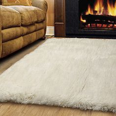 The Conestoga Trading Co. Hand-Woven White Area Rug Rug Size: 5' x 7'