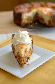 Carrot Cake Cheesecake #dessert #cheesecakefactory #recipes