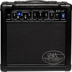 Randall Kirk Hammett Signature Series KH15 Guitar Combo Amp Black (via Musician's Friend)