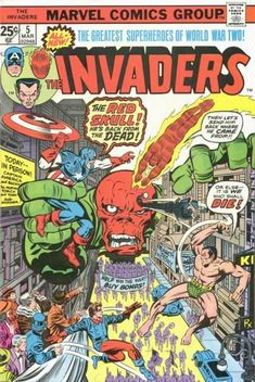 Marvel Comics Group The Invaders #5