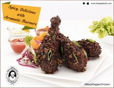 Flavourful Friday awaits you at THALAPPAKATTI RESTAURANT...  #BlackPepperchicken 🍗, the most flavourful and the most favourite dish of all. Let your taste buds burst with a mix of spicy and tasty flavours.