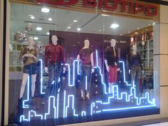 Biotipo installation and window display by Grupo Quality, São Paulo – Brazil