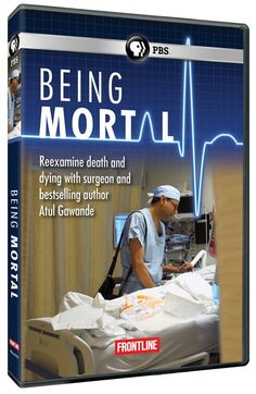 Frontline teams up with writer and surgeon Atul Gawande to examine how doctors care for terminally ill patients. In conjunction with Gawande's new book, Being Mortal, the film explores the relationships between doctors and patients nearing the end of life, and shows how many doctors, including himself, struggle to talk honestly and openly. 60 min. http://ccsp.ent.sirsi.net/client/en_US/hppl/search/results?qu=being+mortal&qf=ITEMCAT3%09Format%091%3ADVD%09DVD&lm=HPLIBRARY&dt=list