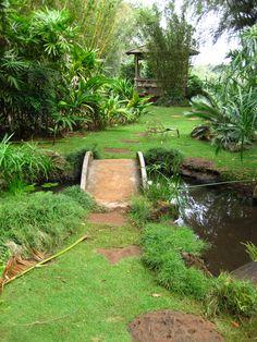 Japanese Garden Grove Farm Museum Lihue