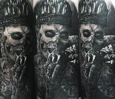Rick Genest tattoo by Andrey Kolbasin