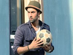 Football face off for Ranbir Kapoor and Dhoni!