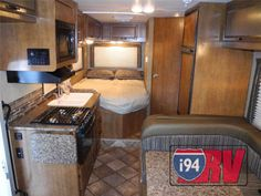 Thor Chateau Class C Little Motorhome RV Interior