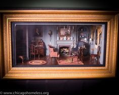 New England Parlor Miniature Room – Boston, MA Circa 1770 From Famed Artist Henry Kupjack Diy Dollhouse, Dollhouse Miniatures, Miniature Rooms, Tiny World, Display Boxes, Little Houses, Shadow Box, Vignettes, New England