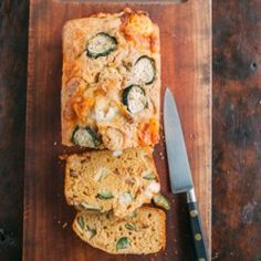 Goat Cheese Zucchini Bread with Bacon - EatingWell.com