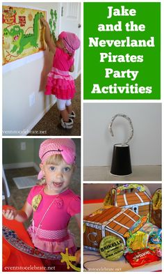 Jake and the Neverland Pirates Party Games  Crafts - Events To Celebrate