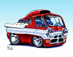 DeviantArt is the world's largest online social community for artists and art enthusiasts, allowing people to connect through the creation and sharing of art. Cartoon Car Drawing, Car Drawings, Cartoon Pics, Cartoon Art, Cars Cartoon, Car Art, Art Cars, Caricatures, Ed Roth Art