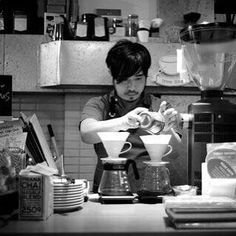 Thank you our customer Savio for the photos perfectly captured our barista's serious attitude for making a coffee! #hario #hariov60 #headbarista #coffee #hkcoffee http://ift.tt/20b7VYo