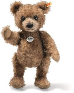 DELUXE BROWN BEAR WITH UNION JACK SHIRT 32CM TALL