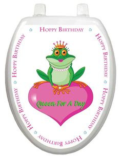 Whimiscal Toilet Seat Grey Toilet Seats, Dog Toilet, Cleaning Wipes, Wood Crafts, Stickers, Day, Queen, Tattoos, Design