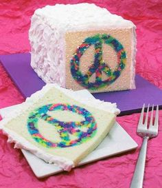 How To Make A Tye-Dye Cake! This Is So Cool!