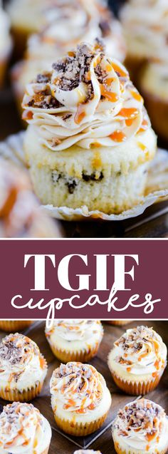 TGIF Cupcakes http://www.somethingswanky.com/tgif-cupcakes/?utm_campaign=coschedule&utm_source=pinterest&utm_medium=Something%20Swanky&utm_content=TGIF%20Cupcakes
