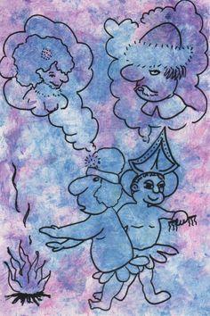 "Artmoney ""Woodoo money"" af Laila Cichos"