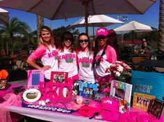 KKG Recruitment booth tabling