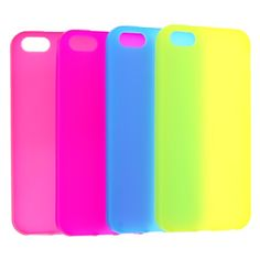 TPU Case Cover for iPhone 5 Pink<3