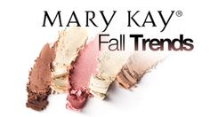 Mary Kay Fall Trends!  Videos featuring beauty bloggers showing how to create fall makeup looks