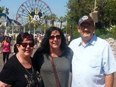 California Adventure with my wife and mother inlaw