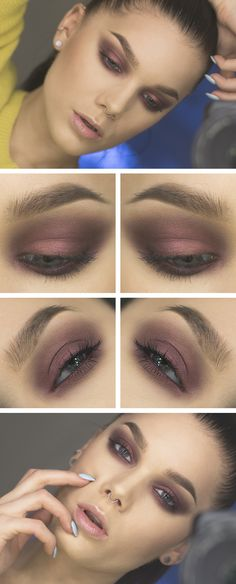 Perfect smoky eye! Look Blaah by Linda Hallberg #makeup