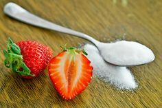 fresas azúcar strawberries sugar