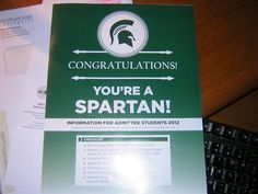 "You remember getting your ""Congratulations! You're a Spartan!"" letter and being pretty damn pumped about it. 