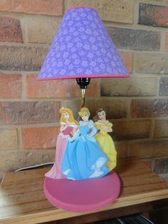 Disney Princess lamp for girls