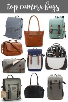 Top Camera Bags - 10 camera bags to look into if you are looking for camera bags!