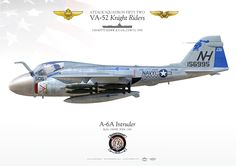 "UNITED STATES NAVY ATTACK SQUADRON FIFTY TWO (VA-52) ""Knight Riders"" USS KITTY HAWK (CV 63), CVW-11. 1970"