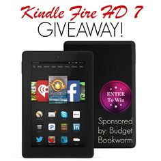 """I added """"Enter to Win a Kindle Fire 7 HD, ends 6/30"""" to an #inlinkz linkup!http://budgetbookworm.com/giveaways/kindle-fire-7-hd-8-gb/"""