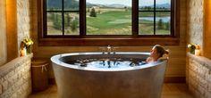 badeinrichtung badideen modernes badezimmer freistehende badewanne