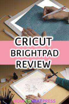 The Cricut BrightPad | What Is It Cricut Heat Transfer Vinyl, Cricut Iron On Vinyl, Patterned Heat Transfer Vinyl, Diy Vinyl Projects, Cricut Explore Projects, Vinyl Decor, Vinyl Wall Decals, Cricut Tutorials, Cricut Ideas