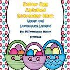 Easter Egg Alphabet Scavenger Hunt:   Upper and Lowercase, Center & Printables   This is a Easter egg / basket themed game or center. Students ...