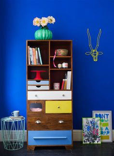 Make an impact with our bright & beautiful homeware, including this Ernest Wood Book Shelf, at Oliver Bonas