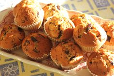Muffins com Pepitas de Chocolate || Muffins with Chocolate Nuggets