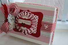 Valentine's box you can make with Stampin'Up! product, so easy, so beautiful!