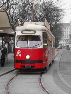 Take a ride on a streetcar in Vienna and perhaps share a romantic moment like Jesse and Celine!