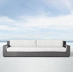 RH Modern's Marbella Aluminum Collection - Slate