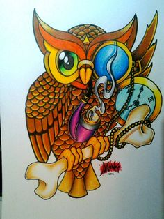 Google Image Result for http://www.deviantart.com/download/287820613/old_school_owl_by_deano_munki_b-d4rczt1.jpg