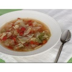 Healing Cabbage Soup Recipe and Video