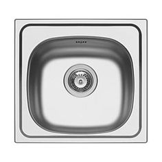 Pyramis Kitchen Sink Stainless Steel 1-Bowl 465 Space-saving single bowl sink suitable for smaller areas. Supplied with a large waste kit and Pyramis factory-fitted seal that significantly cuts fitting time, whilst ensuring a water-tight fit. 25 ye http://www.MightGet.com/january-2017-13/pyramis-kitchen-sink-stainless-steel-1-bowl-465.asp