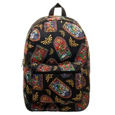 Zelda Skyward Sword Stained Glass Backpack -- You can find out more details at the link of the image.