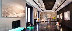 Sala de arte, con obras de Felipao, Pía Gaytán de Ayala, Amalia Moreno de León y Belén Imaz, comisariada por Cristina Atienza, en Casa Decor Madrid 2014.