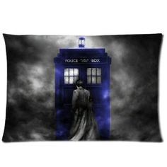 """New Unique Doctor Who Custom Pillow Cases 20""""x30"""" (Two sides) Disc: Affiliate Link"""