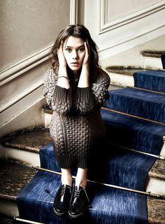 I ORIGINS' Astrid Berges-Frisbey in ELLE Magazine, August 2014