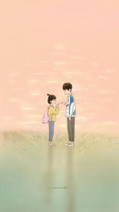 Cute Chibi Couple, Love Cartoon Couple, Cute Love Cartoons, Cute Couple Art, Anime Love Couple, Love Wallpapers Romantic, Cute Anime Coupes, Cute Love Images, Cute Couple Wallpaper